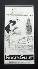 F509 - Advertising Pubblicità - 1953 - ROGER & GALLET , JEAN MARIE FARINA