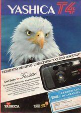 Pubblicità Advertising Werbung 1992 YASHICA T4