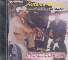 ANTONIO VAZQUEZ CON EL ADIOS A MI MADRE CD Nuevo Sealed