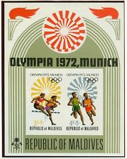 Maldives Olympische Spiele Olympic Games 1972 Imperforated block MNH