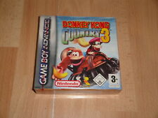 DONKEY KONG COUNTRY 3 PARA LA NINTENDO GAME BOY ADVANCE GBA NUEVO PRECINTADO