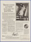 Vintage 1926 LYSOL Cleanser Cleaning Ephemera 20's Print Ad