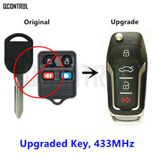 Upgraded Car fob Remote  Key for FORD/LINCOLN/MERCURY 433MHz Without Chip