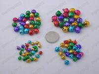 6mm 8mm 10mm 12mm Mixed colors Iron Loose Beads Christmas Jingle Bells Pendants