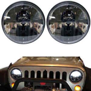 2x7inch LED Headlight High/Low Beam for Jeep Wrangler JK CJ lada Land rover
