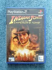 Sony PlayStation 2 PS2 INDIANA JONES AND THE EMPEROR'S TOMB Video Game