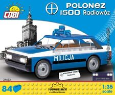 COBI FSO Polonez 1500 Police Car / 24533 / 84 blocks Youngtimer Collection auto