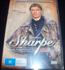 Sharpe (Sean Bean) Sharpe's Regiment / Siege / Mission (Aus R 4)  DVD Like New