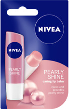 NIVEA Pearly Shine Lip Balm Spf10 4.8g
