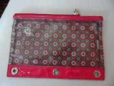 Vera Bradley Frill LOL 3 Hole pencil pouch in Imperial Toile (#2)
