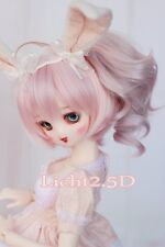 Bjd Doll Parrucca 1/3 8-9 Dal Pullip AOD DZ AE SD DOD LUTS Dollfie Toy Hair pink