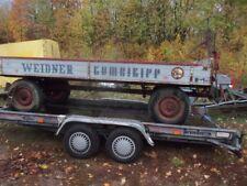 Landwirtschaftlicher Anhänger,Kombikipp Weidner Gummiwagen, Ackerwagen,