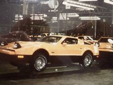 1975 BRICKLIN, Factory Assembly Line #2, Refrigerator Magnet, 40 MIL THICK
