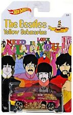 "HOT WHEELS BEATLES YELLOW SUBMARINE ""FAST FELION"" FREE SHIPPING"
