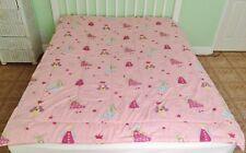LAURA ASHLEY Fairy Princess Fun Fairies Pink Fairies Twin Comforter Quilt