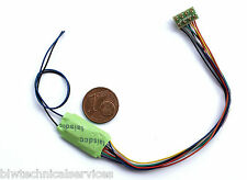 Laisdcc 4 Function + stay alive DCC Decoder with trailing NEM 652 plug UK Stock