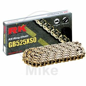 RK X-Ring G&b 525XSO/102 Chaîne Rivet Gilera 800 Gp 2007-2014