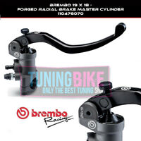 BREMBO RADIAL BRAKE MASTER CYLINDER 19X18 RACING FORGED DUCATI HYPERMOTARD 1100