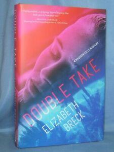 DOUBLE TAKE ELIZABETH BRECK BRAND NEW BCE HC/DJ A MADISON KELLY MYSTERY #2