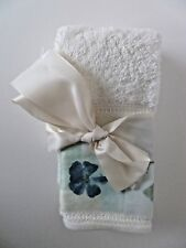 Two Croscill Home 100% Cotton Dish Towels W/Ribbon - See Description & Images