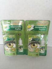2 SOPHIA CHAMOMILE HERBAL EYE DROPS / 2 BOTELLAS GOTAS de MANZANILLA (HERBAL)