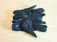 British Army-Issue Black Leather Mk II Combat Gloves. Size 10. 2007.