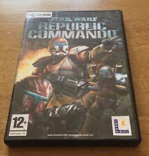 Star Wars Republic Commando PC CD-Rom 2005