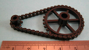 Delrin Chain & Delrin Sprockets for 4mm 7mm 16mm 7/8 Scales OO S O SM32 45mm G
