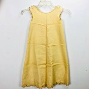Antique Doll Baby Gown Lawn Clothes Dress Petticoat Crochet Lace Beauty Vintage
