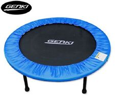 "Sport Small 40"" Fitness Exercise Folding Mini Trampoline w Safety Padding Cover"