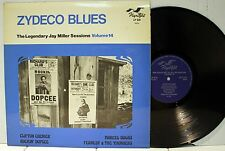Rare Zydeco Blues LP- Various Artists - Legendary Jay Miller Sessions - Flyright
