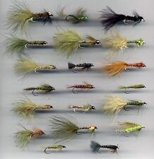 Trout Flies: Damselfly Nymphs x 20 all longshank size 10 (Code 205)