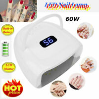 60W 42pcs LED Beads Nail Dryer Lamp UV Light Nails Polish Gel Electric Manicure