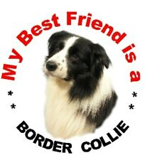 2 Border Collie Car Stickers MBF 2  - By Starprint