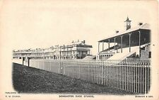 England postcard Doncaster Race Stands Racecourse South Yorkshire Horse racing