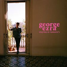 GEORGE EZRA STAYING AT TAMARA'S WHITE VINYL LP+CD (March 2018)