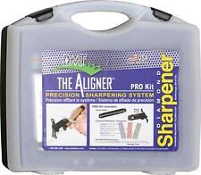 DMT Diamond Aligner Pro Kit 3 Stone + Serrated Knife Sharpening Kit A-ProKit