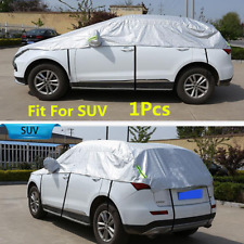 1Pcs Car SUV Dust Waterproof Sun Shade Protection Semi-body Cover Accessories