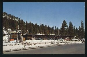 CA Squaw Valley CHROME PC 1960's SHOPPING CENTER Lake Tahoe by Roberts C16331