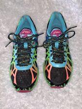 ASICS Gel Noosa Tri 9 Women's Neon Black Triathlon Shoe Sneaker SIZE 10 T458N