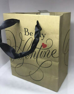 Lot Of 12 Hallmark Expressions Be My Valentine Gift Bags Valentines Day