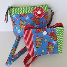 Free Shipping Big Sister/Little Sister Christmas Purses