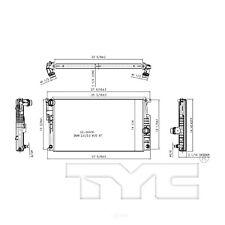 Radiator TYC 13394