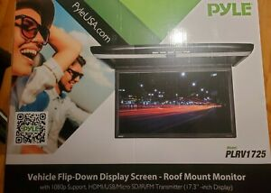 """Pyle vehicle flip-down 17.3"""" display screen"""