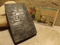 Sumerian cuneiform tablet City of Ur - King Shulgi - Dimtabba temple dedication