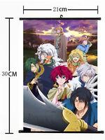 Hot Japan Anime Akatsuki no Yona Wall Poster Scroll Home Decor 526