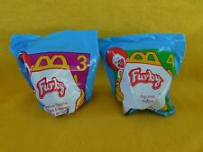 1998 McDonald's Furbies (Furby) Set of TWO (2) #3 & #4 BRAND NEW Factory sealed