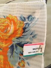 Morgly Vintage Retro Chic Square Scarf Free Shipping Used B1