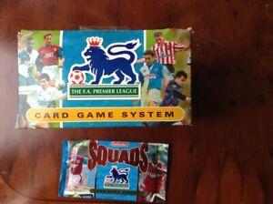 1996 Subbuteo Squad Unopened Sealed Foil 30Packs of 8 FA Premier League Cards