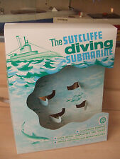 VINTAGE SUTCLIFFE TINPLATE CLOCKWORK SUBMARINE DISPLAY UNIT FOR NAUTILUS DISNEY